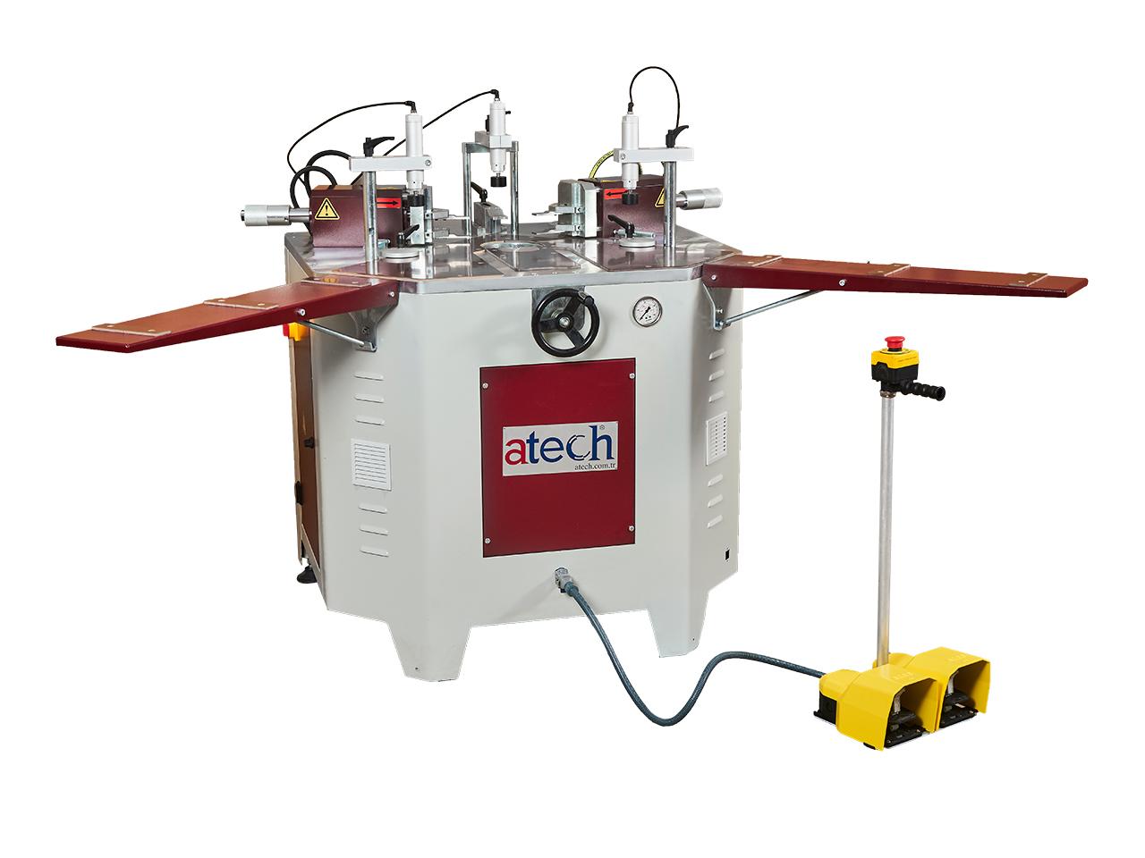 Apis Hydraulic Corner Crimping Machine For Aluminium Profiles