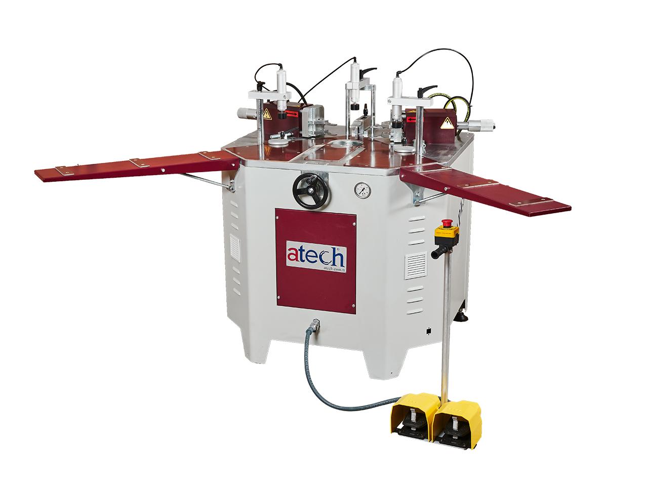 Hydraulic Corner Crimping Machine For Aluminium Profiles