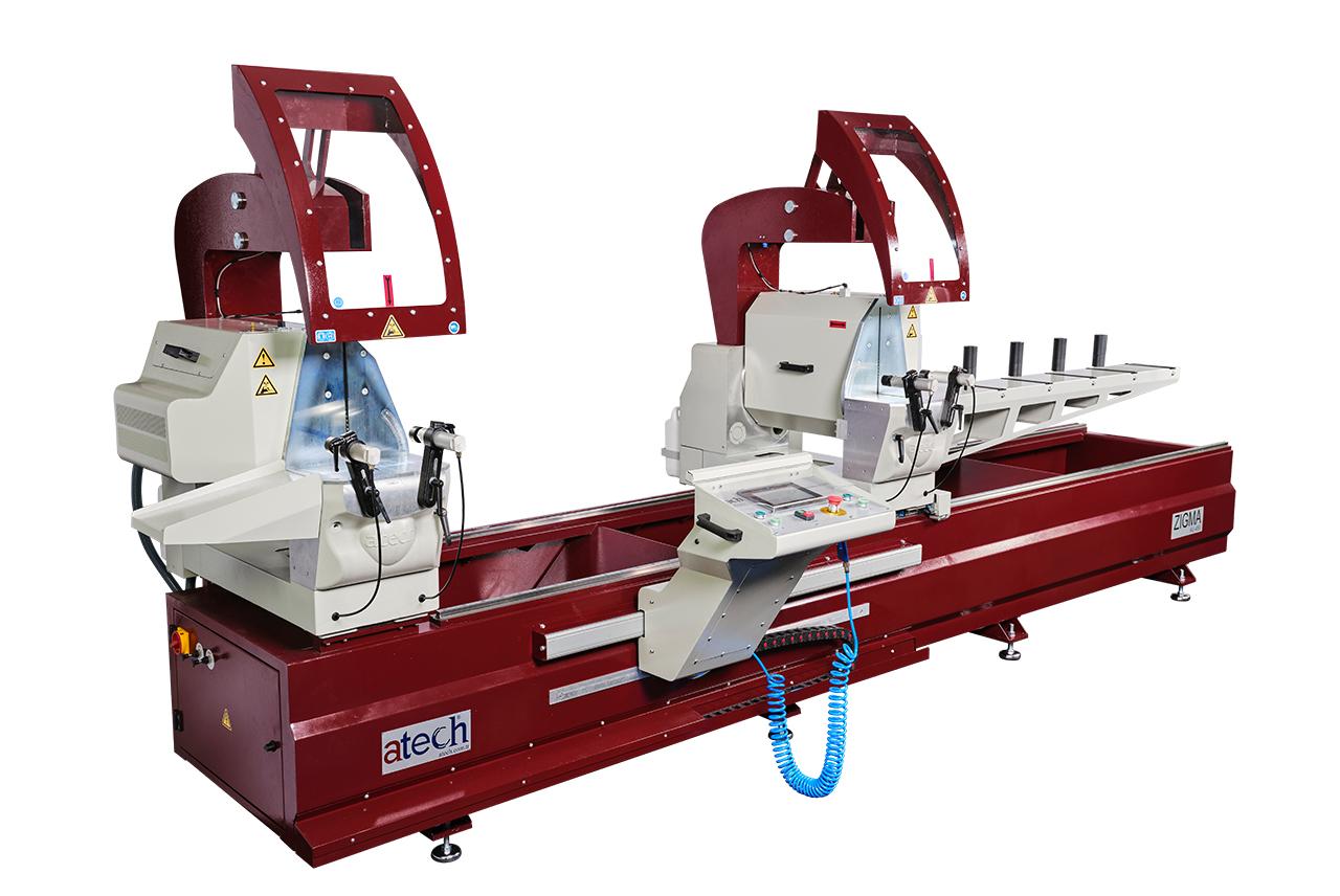 Zigma Double Head Profile Automatic Miter Cutting Machine Machine Saws 450 mm