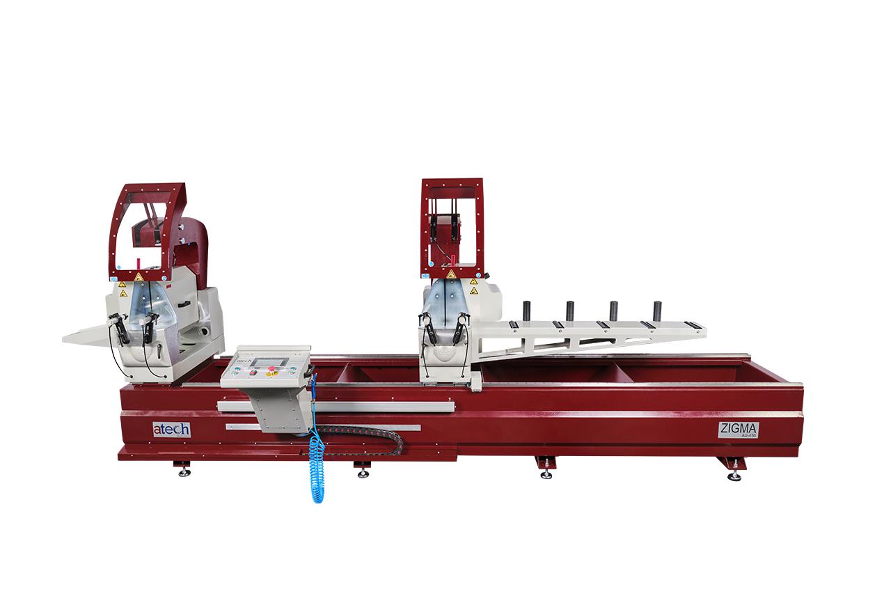 Zigma Double Head Profile Cutting Automatic Aluminium Profile Cutting Machine Saws 450 mm