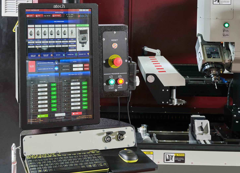 ALUPRO-4 Eksen CNC İşleme Merkezi Control Panel 1