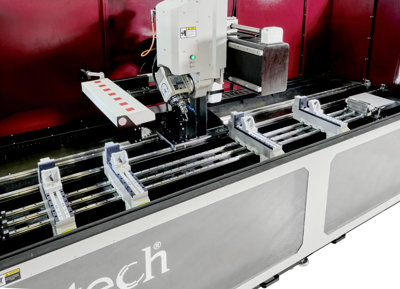 ALUPRO-4 Eksen CNC İşleme Merkezi iç