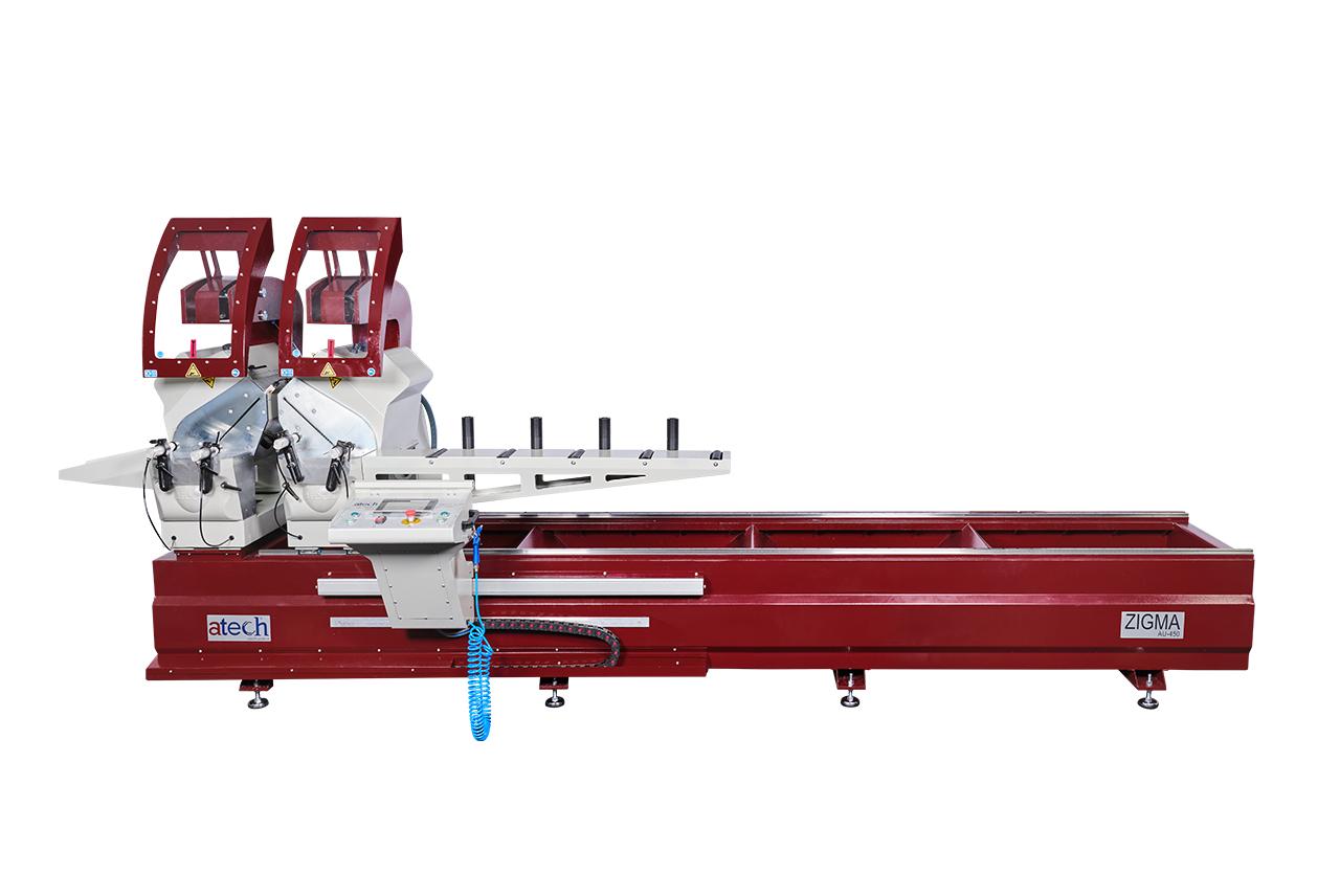 Zigma Double Head Automatic Aluminium Profile Cutting Saws 450 mm