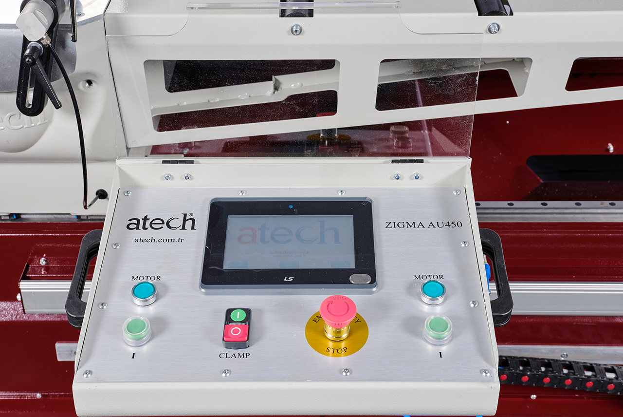 Zigma Double Head Automatic Miter Saws 450 mm LCD Panel