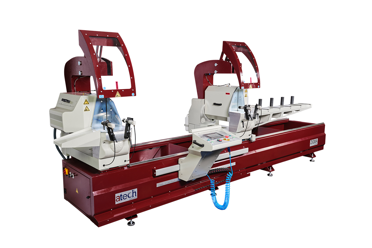 Zigma Double Head Automatic Miter Saws Machine 450 mm Cover
