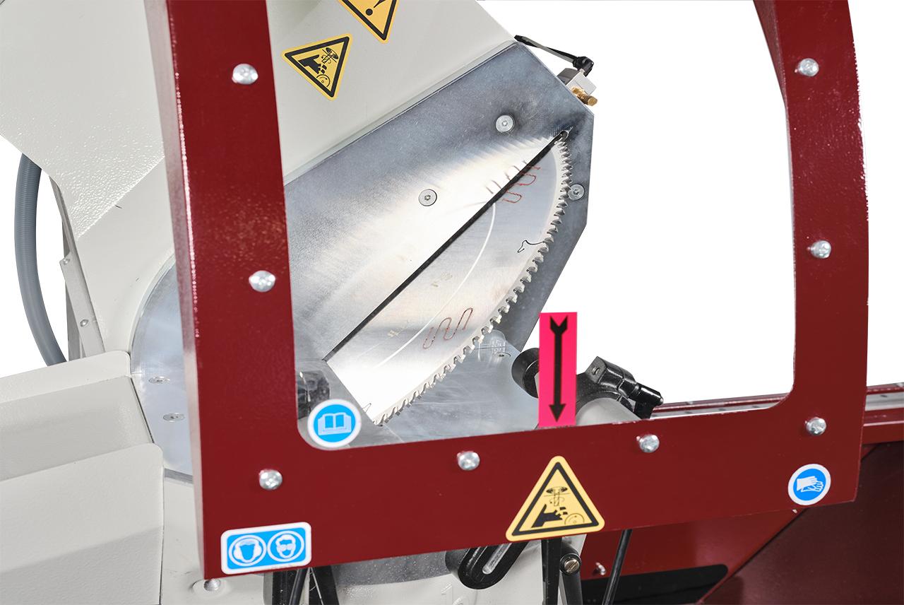 Zigma Double Head Profile Cutting Automatic Machine Saws 450 mm 11